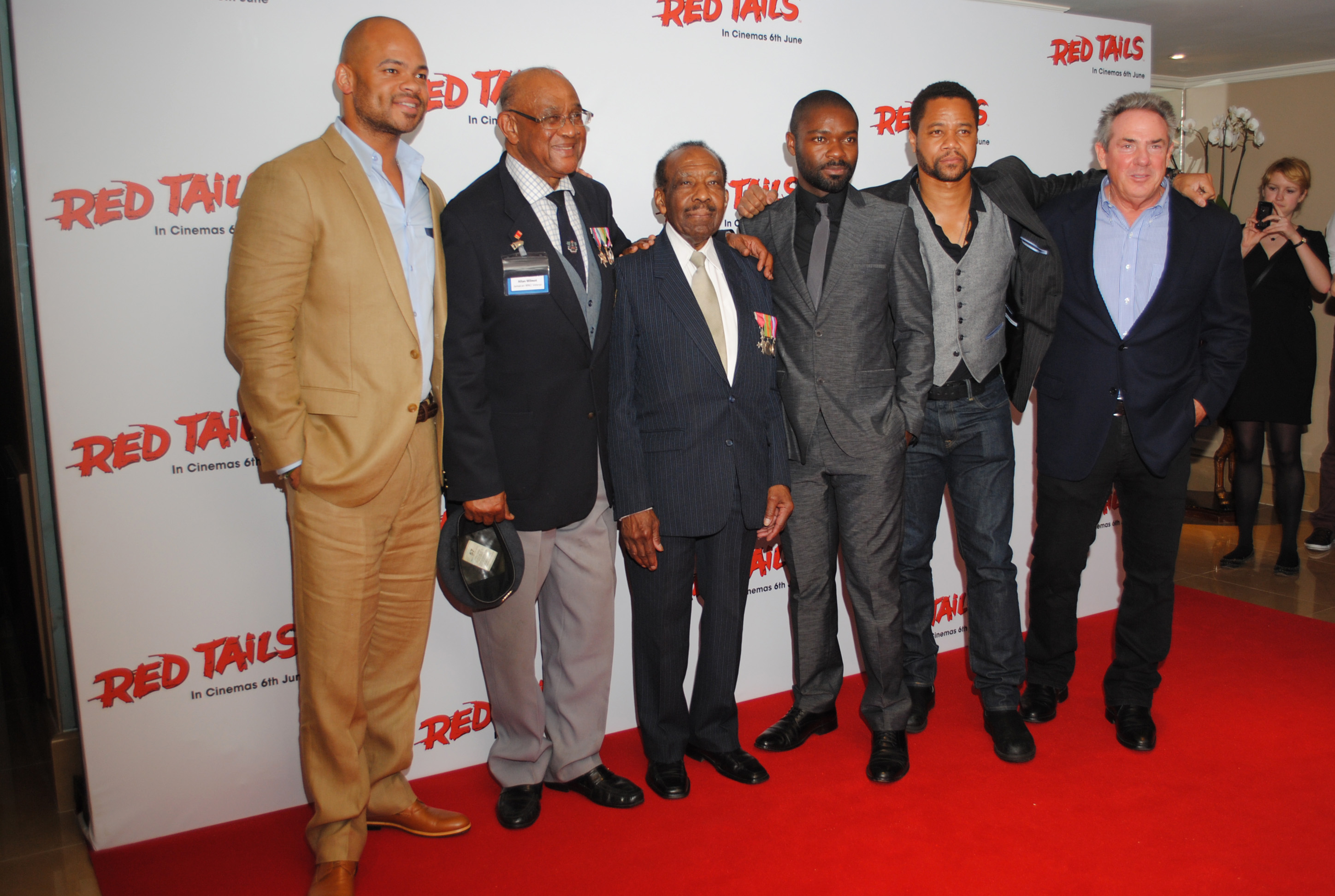 Pics Red Tails UK gala | OK! NIGERIA