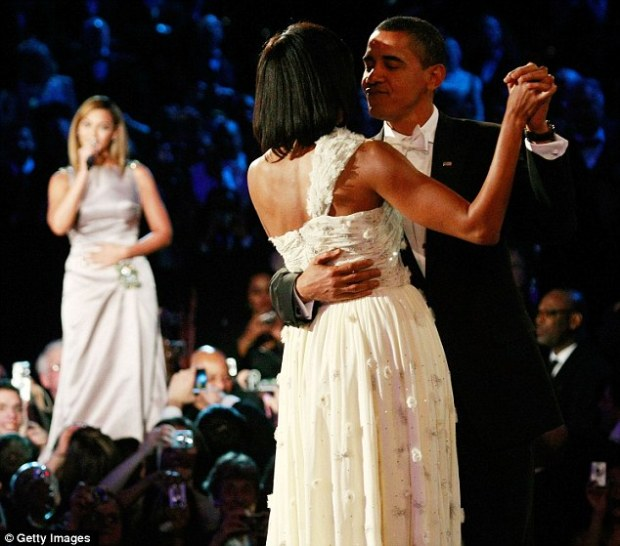 beyonce performs obama inaguration